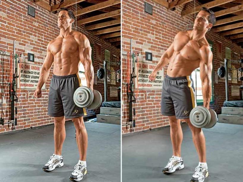 ダンベルサイドベントの正しいやり方!腹斜筋を鍛えるフォーム
